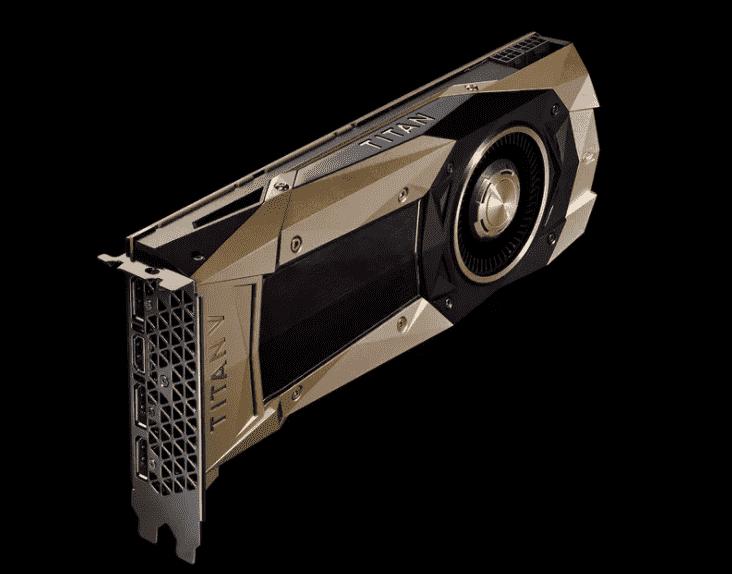 Стоимость новой видеокарты под названием Titan V составит почти $3000