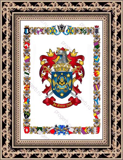 История и трактовка семейного герба